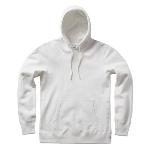 Reigning Champ Midweight Terry Pullover Hoodie - Winter White - The Class Room