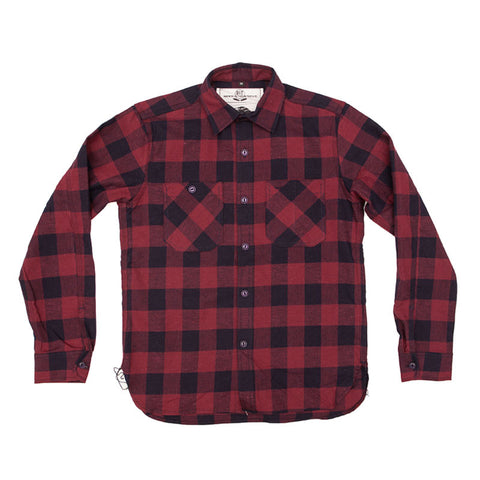 Rogue Territory Hunter Shirt - Maroon / Navy - The Class Room