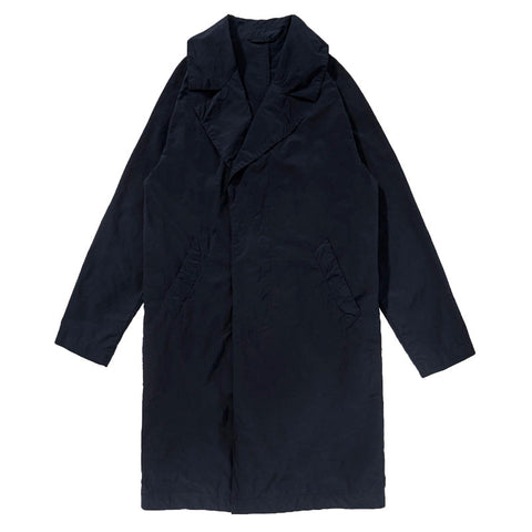 Saturdays NYC Garment Dyed Clyde Nylon Trench - Midnight - The Class Room boutique