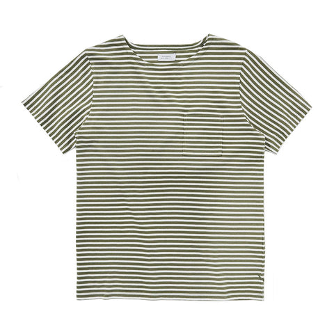 Saturdays NYC Collette Feeder Short Sleeve T-Shirt - Sage - The Class Room boutique