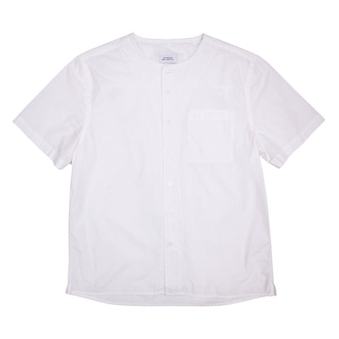 Saturdays NYC Pontus Short Sleeve Shirt - White - The Class Room boutique