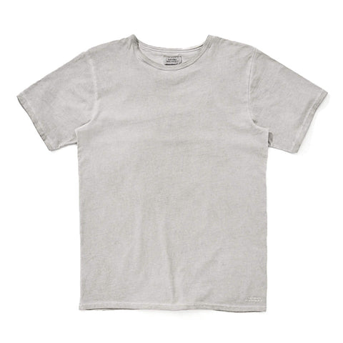 Saturdays NYC Brandon Solid Pima Cotton T-Shirt - Ash - The Class Room boutique