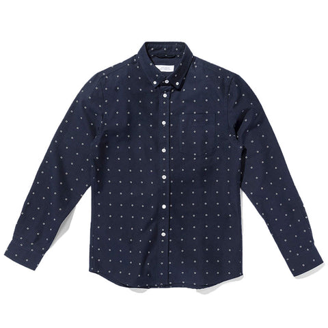 Saturdays NYC Crosby Dots Shirt - Midnight - The Class Room - 1