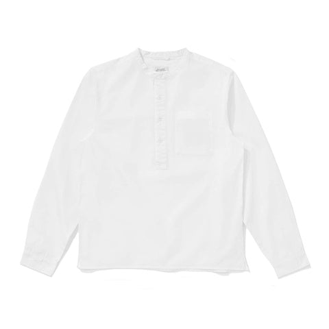 Saturdays NYC Dimitri Popover Shirt - White - The Class Room boutique