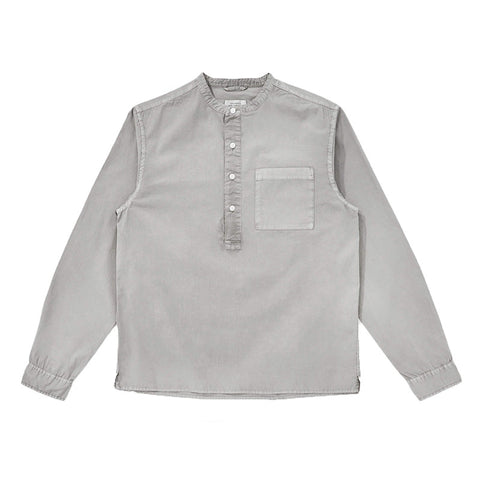 Saturdays NYC Dimitri Popover Shirt - Washed Black - The Class Room boutique