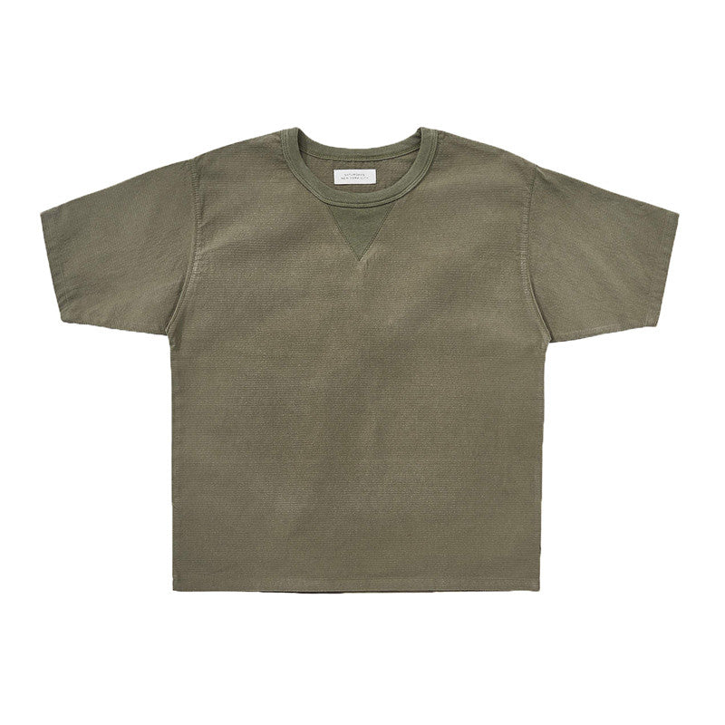 Saturdays NYC Elliot Woven T-shirt - Sage - The Class Room boutique