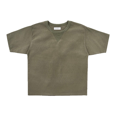 Field Shirt - Olive Reversed Sateen
