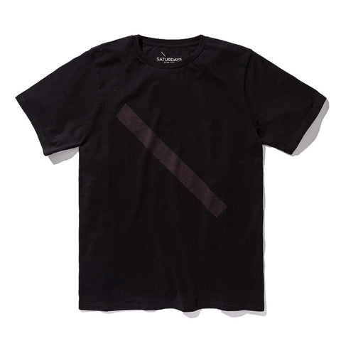 Saturdays NYC Slash T-Shirt - Black - The Class Room
