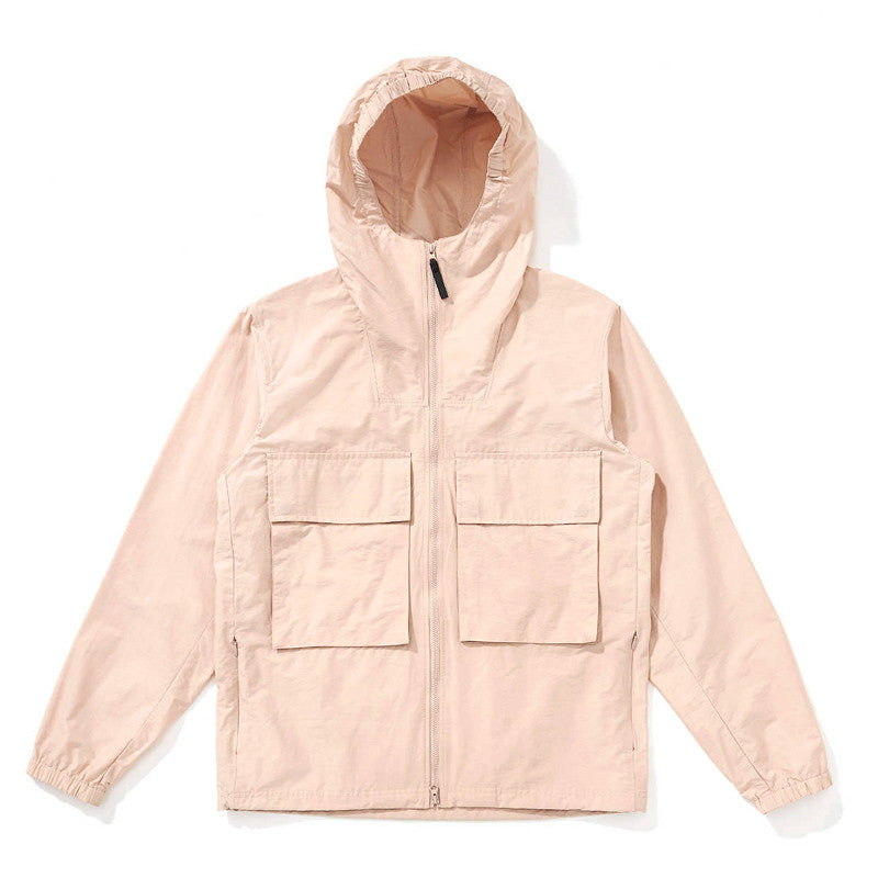 Saturdays NYC Travis Windbreaker - Clay - The Class Room boutique