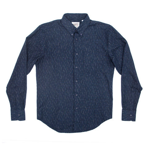 Naked & Famous Regular Shirt - Kimono Print Rain - The Class Room boutique