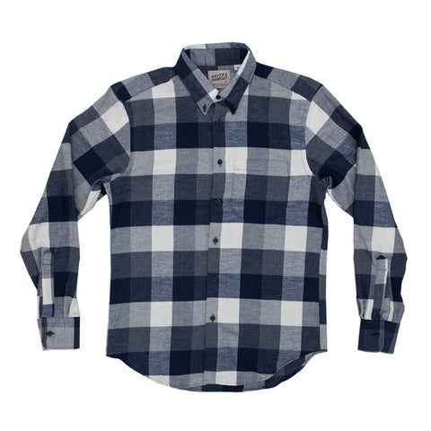 Naked & Famous Regular Shirt - Soft Buffalo Check - The Class Room boutique
