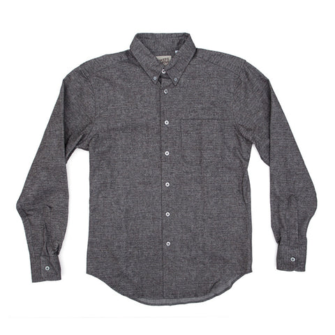 Naked & Famous Regular Shirt - Dizzy Herringbone - The Class Room boutique