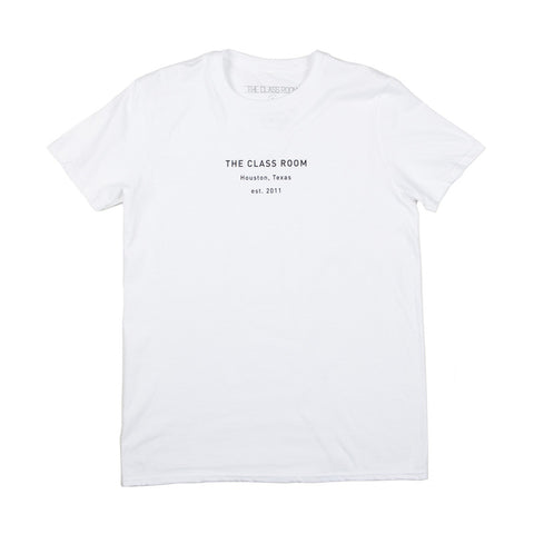 The Class Room The Class Room Minimal Tee - White - The Class Room boutique