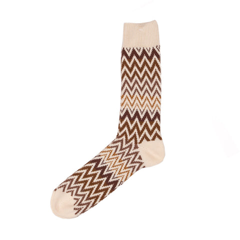 Anonymous Ism Zig Zag Crew Sock (Multiple Colors) - The Class Room boutique