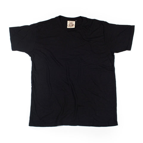 Jungmaven Original 60/40 Organic Hemp/Cotton Blend Tee - Urban Black - The Class Room