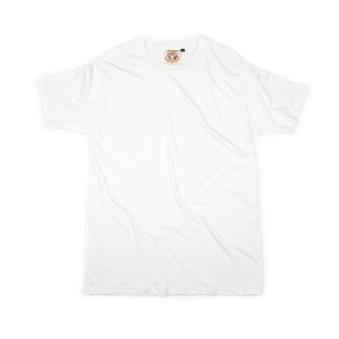 Jungmaven Original 60/40 Organic Hemp/Cotton Blend Tee - Optic White - The Class Room