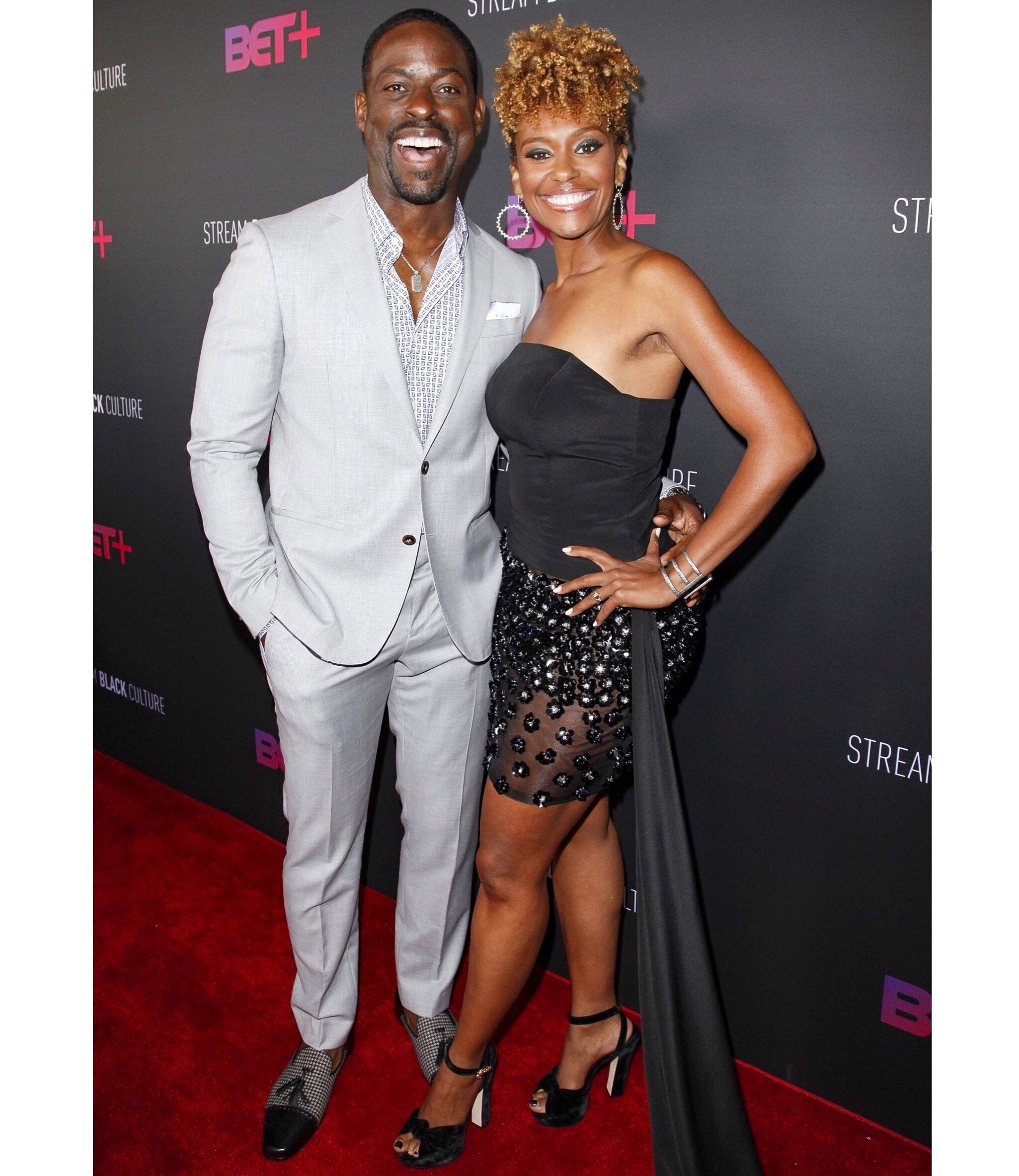 Sterling K. Brown hits the Red Carpet in Mark Chris