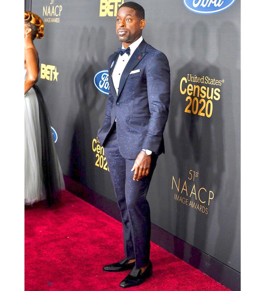 Sterling K. Brown Walks Red Carpet in MC