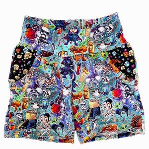 MAY THE FORCE JOGGER SHORTS - WITH POCKETS
