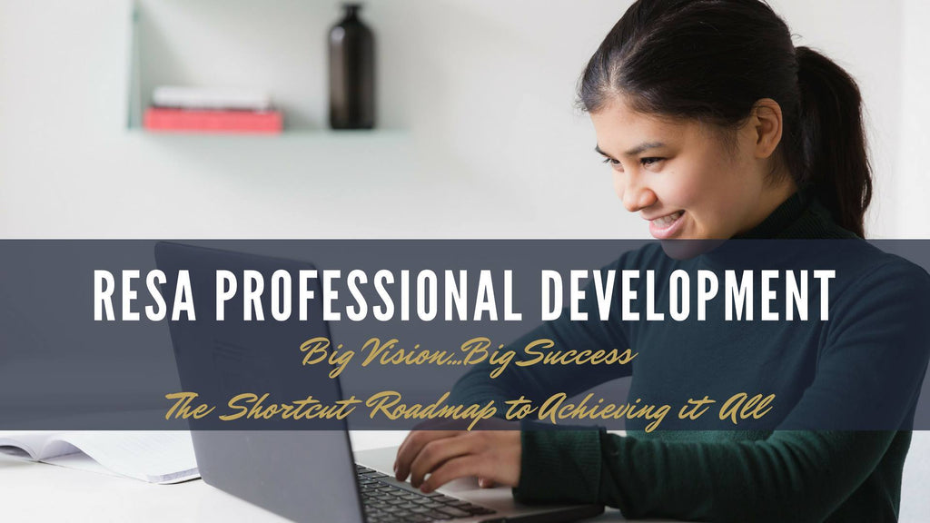 Big Vision - Big Success A RESA Professional Development Webinar