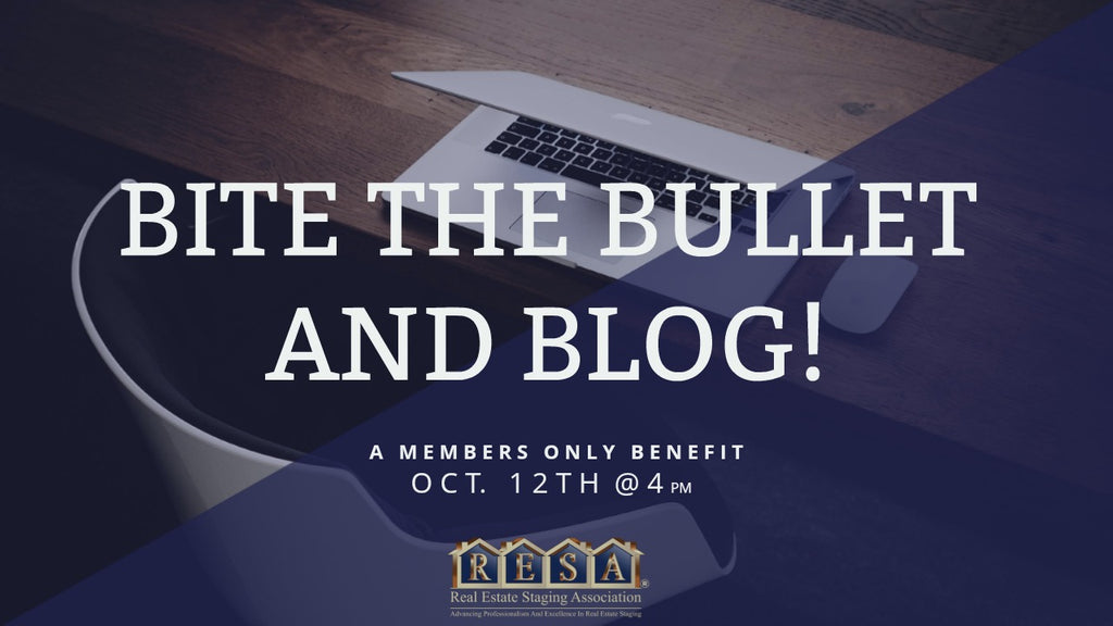 Bite The Bullet And Blog With Karen Eubank