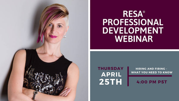 Hiring and Firing What You Need to Know - RESA Professional Development Webinar