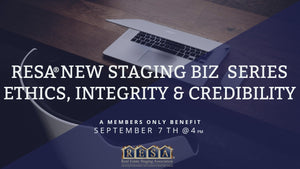 New Staging Biz Series: Ethics, Integrity and Credibility
