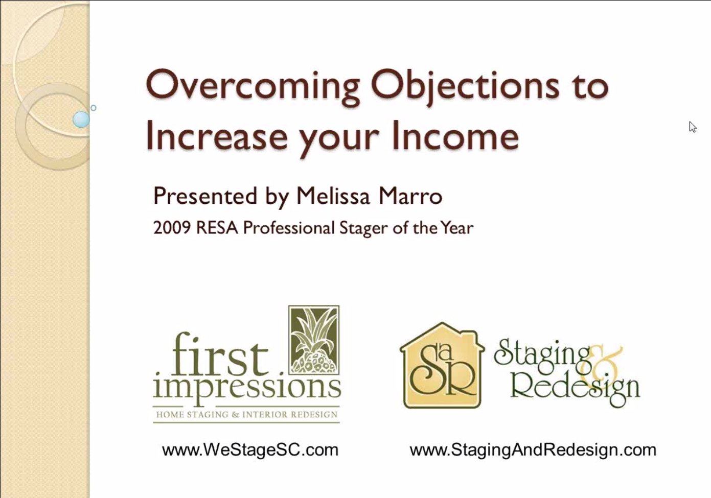 Overcoming Objections To Increase Your Income