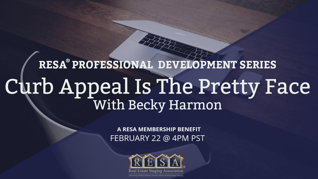 Curb Appeal is the Pretty Face Professional Development With Becky Harmon