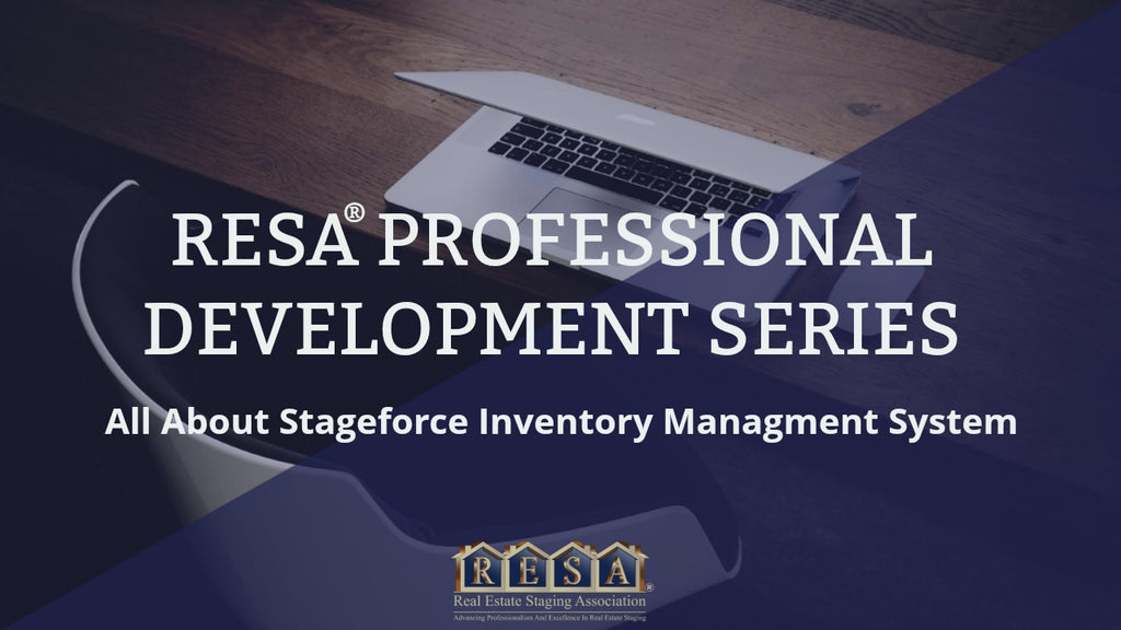 RESA Professional Development Series - All About Stageforce Inventory management System