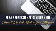 Smart Social Media for Stagers -  A RESA Professional Development Webinar
