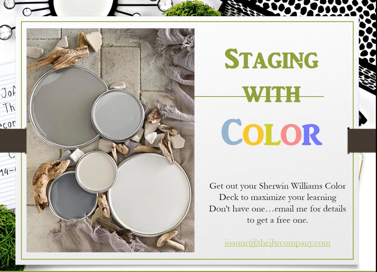 Staging with Color