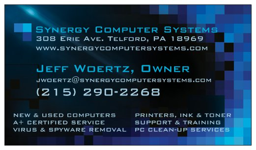 Synergy Computer Systems