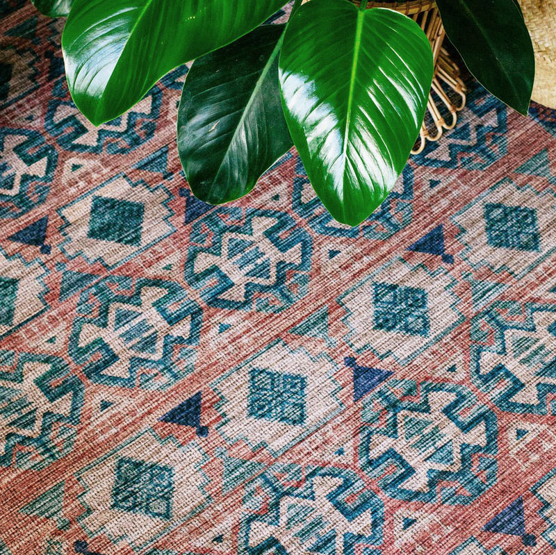 Cielo Terracotta Rug by Justina Blakeney® X Loloi