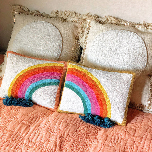 Rain Bow Hook Pillow Set by Justina Blakeney®
