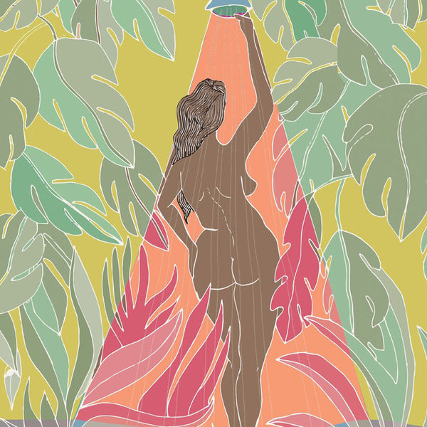 Shower Goals Art Print by Justina Blakeney® - Jungalow