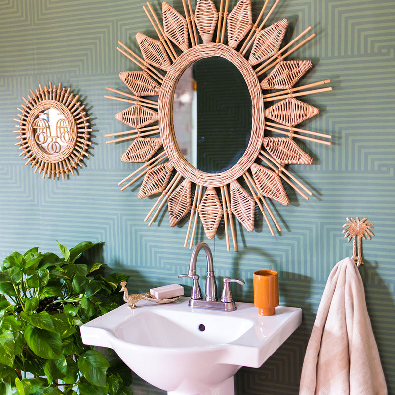 Into You Wallpaper in Sage designed by Justina Blakeney® | Jungalow®