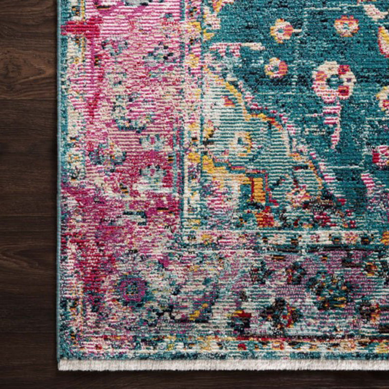 Silvia Teal & Berry Rug by Justina Blakeney® - Jungalow