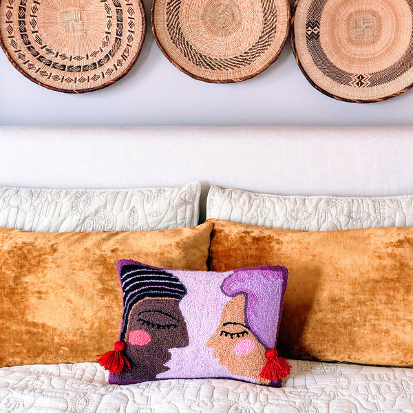 Duet Hook Pillow by Justina Blakeney®