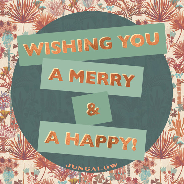 E-Gift Card | Wishing you a Merry & a Happy
