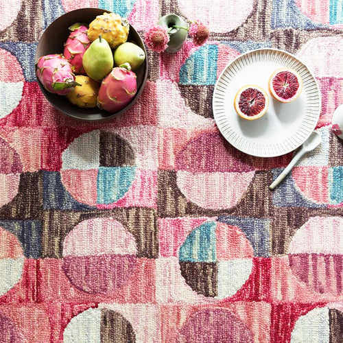 Hallu Berry Rug by Justina Blakeney® X Loloi