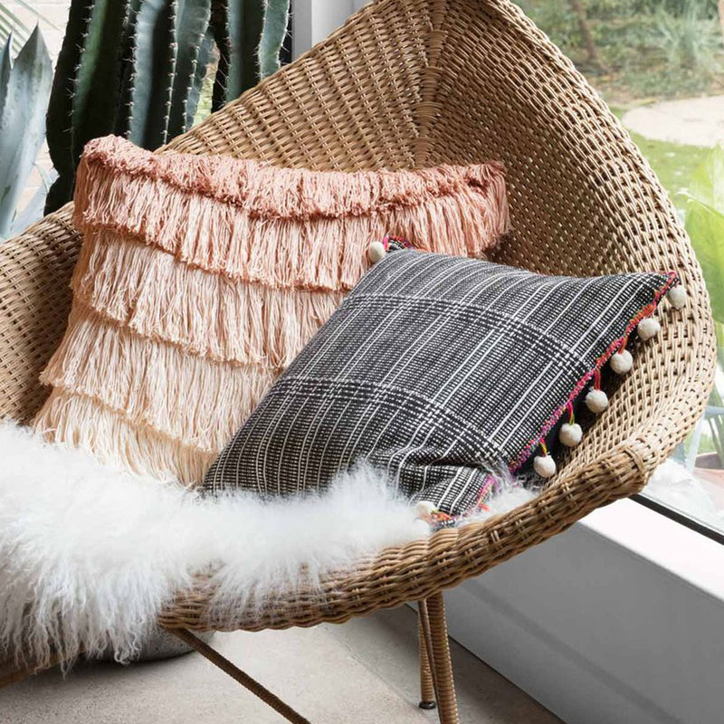 Noche Pom Pom Pillow by Justina Blakeney® X Loloi