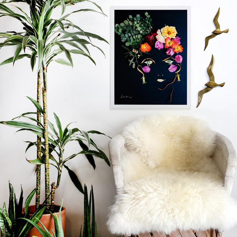 Framed Alessa Art Print by Justina Blakeney® - Jungalow