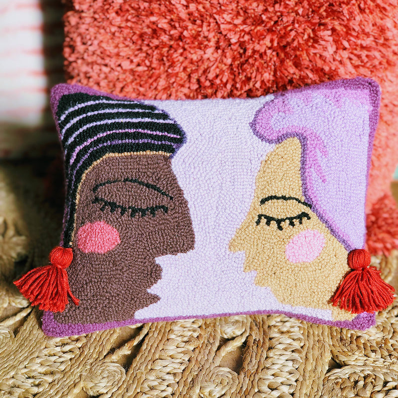 Duet Hook Pillow by Justina Blakeney® now at Jungalow®