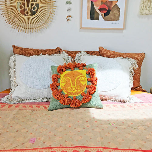 Lion Hook Pillow by Justina Blakeney® now at Jungalow®