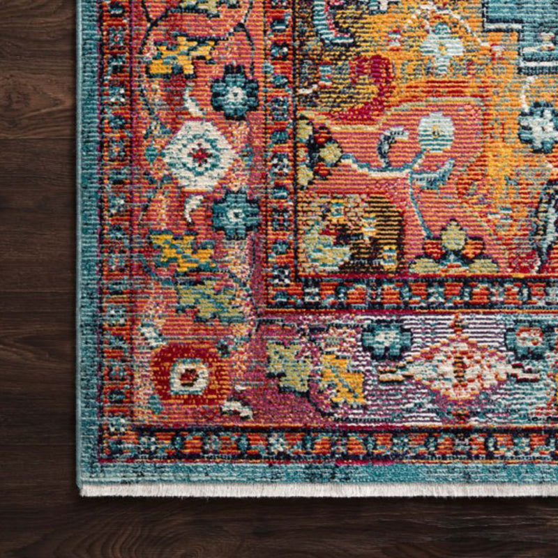 Silvia Blue Fiesta Rug by Justina Blakeney® - Jungalow