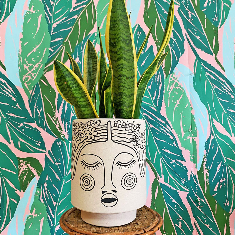 Oona Kaya Face Pot by Justina Blakeney®