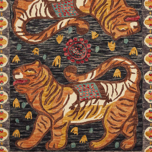 Tigress Tangerine Rug by Justina Blakeney® X Loloi