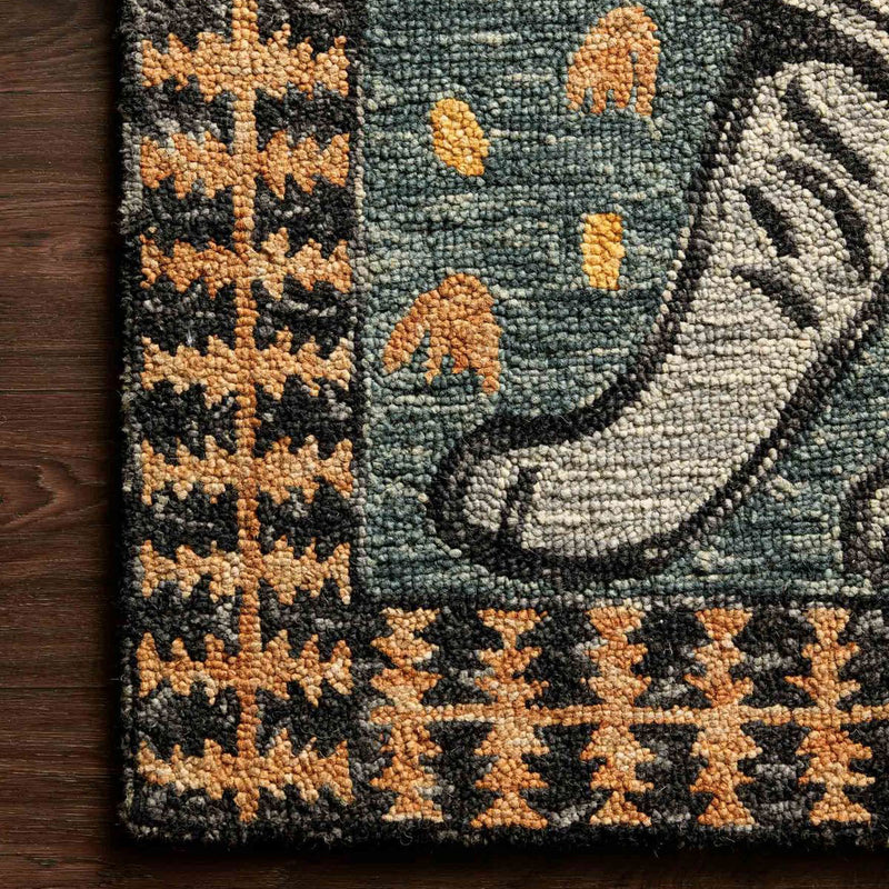 Tigress Teal Rug by Justina Blakeney® X Loloi *PRE-ORDER*