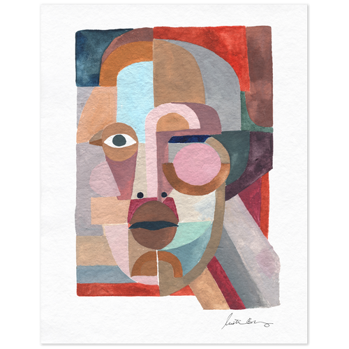 Face 3 Art Print by Justina Blakeney® - Jungalow